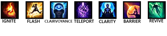 Summoner Spell Icons