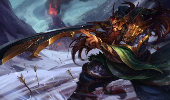 Warring Kingdoms Tryndamere Splash