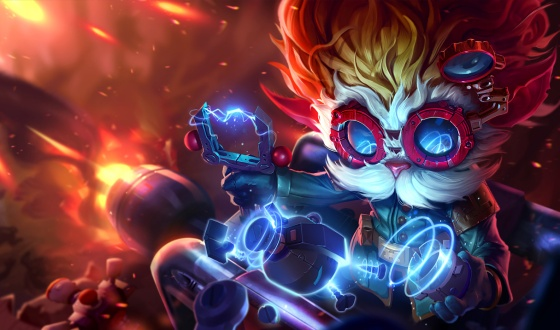 Heimerdinger New Splash