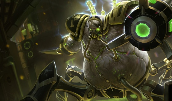 New Urgot Splash