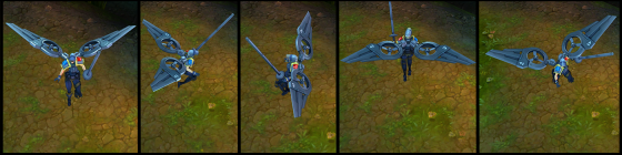 Riot Kayle Poses
